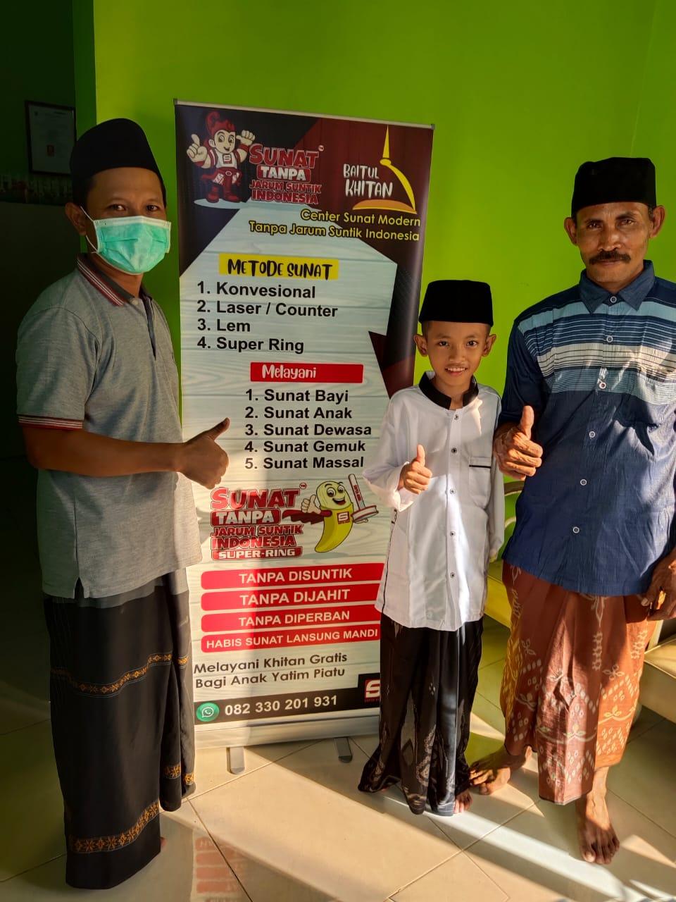 SUNAT MODERN PROBOLINGGO TANPA SUNTIK INDONESIA